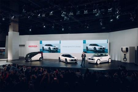 Honda на Токийском автошоу: Линейка ретро-электромобилей EV будет расширена, самобалансирующийся электромотоцикл Riding Assist-e и россыпь необычных концептов