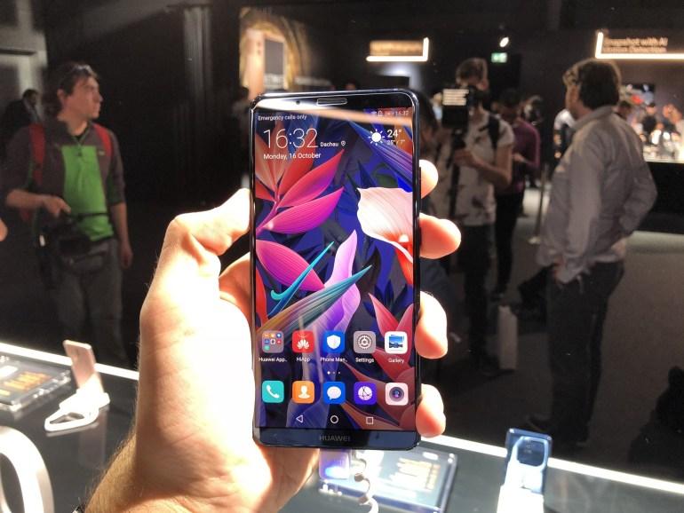 Представлена флагманская линейка смартфонов Huawei Mate 10