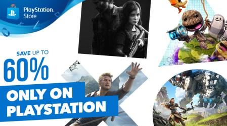 В PlayStation Store стартовала распродажа «Only on PlayStation» со скидками на игры для PS4, PS3 и PS Vita до 60%