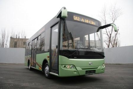 ЗАЗ занимается разработкой городского электроавтобуса, опытный образец представят уже в следующем году