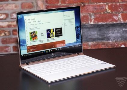 HP анонсировала обновлённые ноутбуки Spectre 13 и Spectre x360 с новыми процессорами Intel и увеличенной автономностью