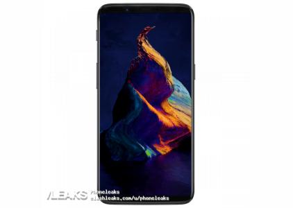 Предполагаемое изображение OnePlus 5T демонстрирует смартфон, похожий на Samsung Galaxy S8