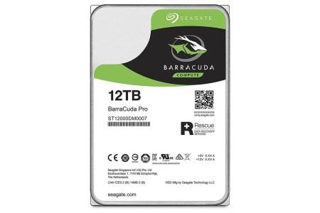 Новый HDD Seagate BarraCuda Pro ёмкостью 12 ТБ получил ценник в $530