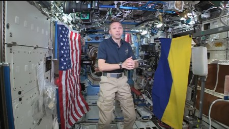 Командир 53-й экспедиции МКС Рэнди Брезник ответил на вопросы украинских студентов в формате видеоконференции