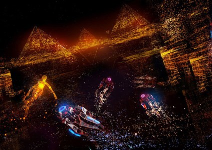 Игра Rez Infinite стала доступной для VR-платформы Google Daydream
