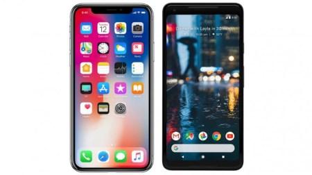 Владельцы Google Pixel 2 XL жалуются на «мертвые зоны» сенсорного экрана по краям, а обладатели iPhone X – на проблемы с разговорным динамиком