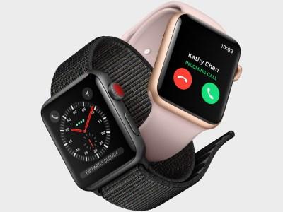 Apple признала наличие проблемы с дисплеями в некоторых умных часах Apple Watch Series 3