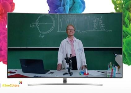 Приложение Samsung SeeColors позволяет калибровать QLED телевизоры для людей с дальтонизмом