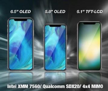 KGI: Следующее поколение смартфонов iPhone будет поддерживать две SIM-карты и более высокие скорости LTE за счет новых модемов от Intel и Qualcomm