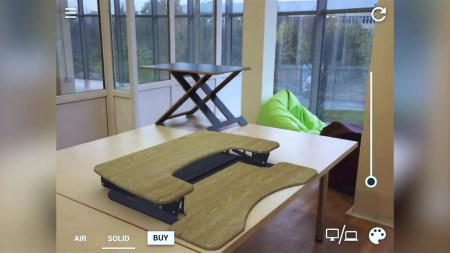 Львовский производитель офисных столов STIYSTIL по примеру IKEA выпустил AR-приложение для подбора мебели на платформе Apple ARKit