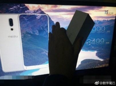 Первые «живые» фото смартфона Meizu 15 Plus: минимальные рамки по трем сторонам, сканер отпечатков на фронтальной панели и стоимость от $450