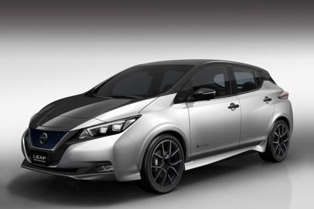 Nissan привезет на автошоу в Токио тюнинговую версию электромобиля Nissan Leaf Grand Touring