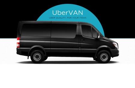 Uber запустил в Киеве новый сервис uberVAN c минивэнами и микроавтобусами, вмещающими от 6 пассажиров и более