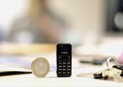 Zanco tiny t1 – самый маленький мобильный телефон массой всего 13 г