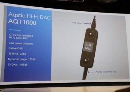 Qualcomm анонсировала свой первый ЦАП USB-C Hi-Fi AQT1000