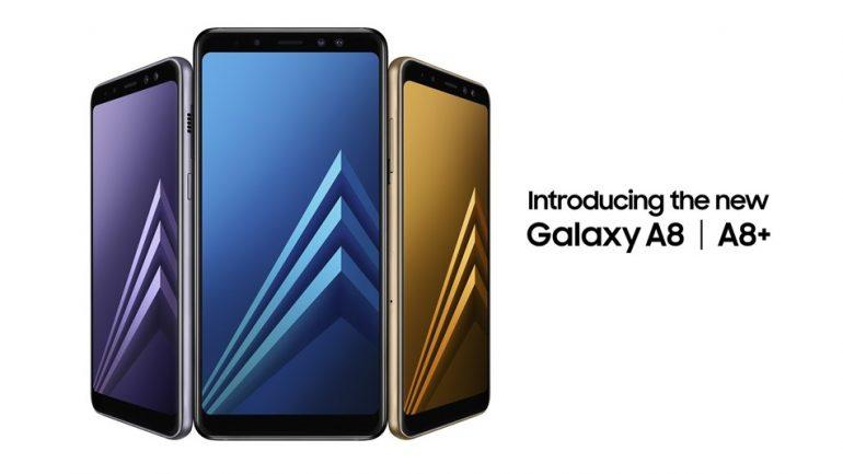 Представлены смартфоны Samsung Galaxy A8 и Galaxy A8+: дисплеи Infinity Display, сдвоенные фронтальные камеры и поддержка Gear VR