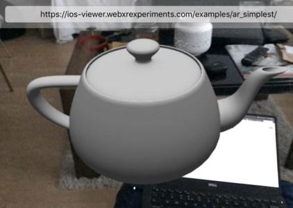 Mozilla выпустила приложение дополненной реальности WebXR Viewer