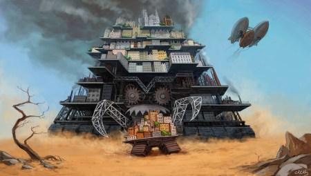 Первый трейлер «Смертельные машины» / Mortal Engines — научно-фантастического приключения от режиссера и сценариста «Властелина колец» и «Хоббита»