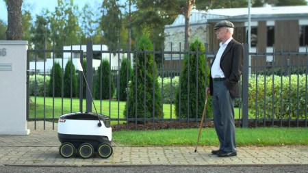 В Сан-Франциско для тестирования роботов-курьеров необходимо получить специальное разрешение
