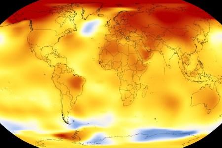 2017-й стал одним из рекордно жарких годов за всю историю наблюдений