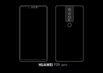 Смартфон Huawei P20 Pro получит еще более вытянутый вверх дисплей с соотношением сторон 19:9