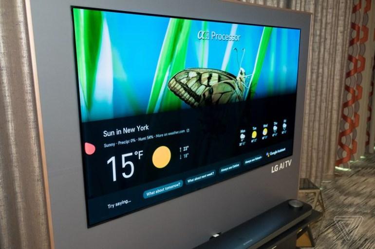 LG добавила в свои телевизоры Google Assistant, Alexa и собственную платформу ИИ ThinQ