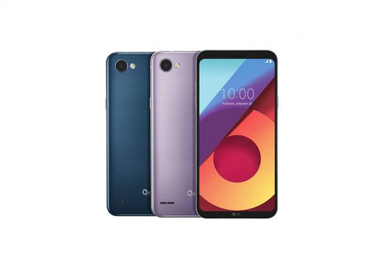 LG представила новые цвета для смартфонов G6 и Q6