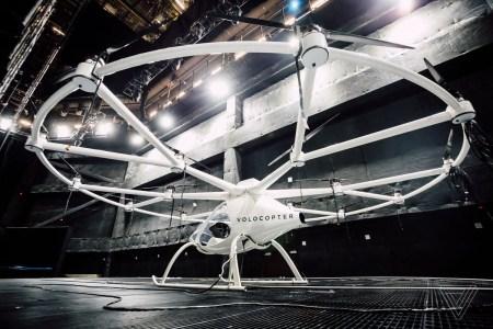 Электрический мультикоптер Volocopter впервые поднялся в воздух в США, его создатели рассчитывают запустить летающее такси в эксплуатацию уже через 5 лет