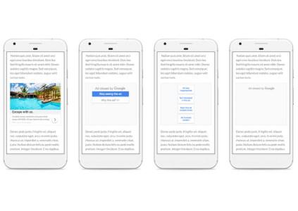 Google предоставила пользователям больше возможностей по контролю над показываемой им рекламой