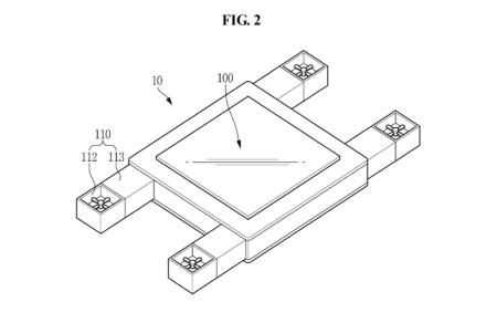 Samsung запатентовала летающий дисплей с управлением взглядом и прочими впечатляющими функциями