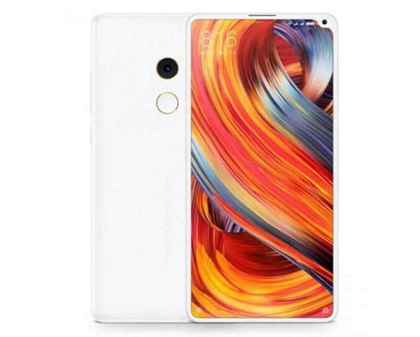 """Слухи: У безрамочного смартфона Xiaomi Mi Mix 2S не будет """"выреза"""" а-ля iPhone X, фронтальную камеру разместят в скругленном """"уголке"""""""