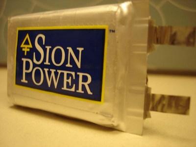 Sion Power анонсирует выпуск аккумуляторов Licerion с удельной ёмкостью 500 Вт∙ч/кг