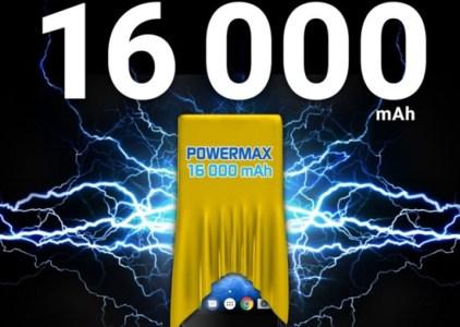 Energizer создала смартфон Power Max P16K Pro с батареей ёмкостью 16000 мАч