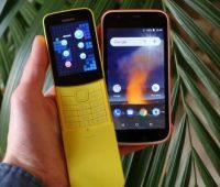Первый взгляд на «банан» Nokia 8110 4G и Nokia 1 - ITC.ua