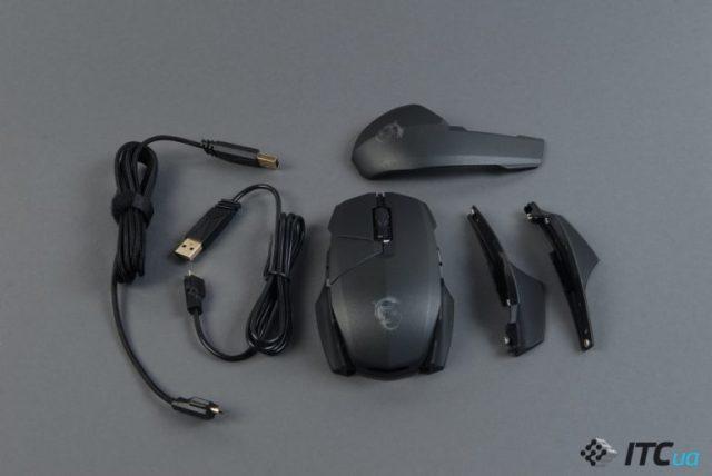 Обзор игровой мыши MSI Clutch GM60 - ITC.ua