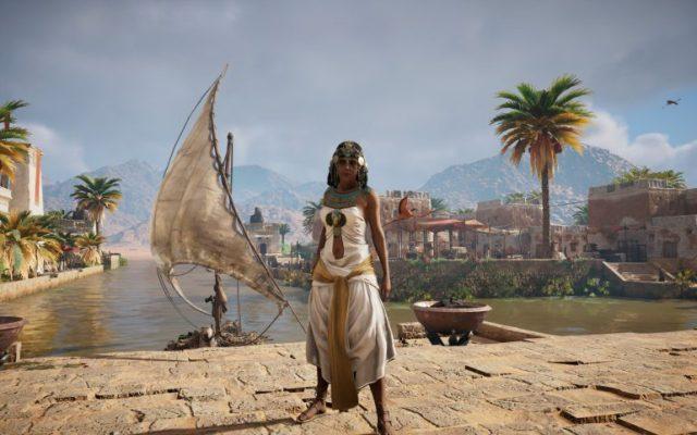 Discovery Tour by Assassin's Creed: Ancient Egypt – селфи на фоне пирамид - ITC.ua