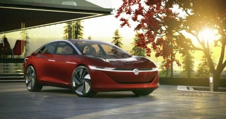 Volkswagen представил концепт электромобиля премиум-класса I.D. VIZZION с пятым уровнем автономности, мощностью 300 л.с. и запасом хода 665 км от батарей на 111 кВтч