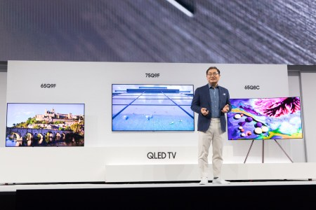 Samsung представила новую линейку телевизоров QLED