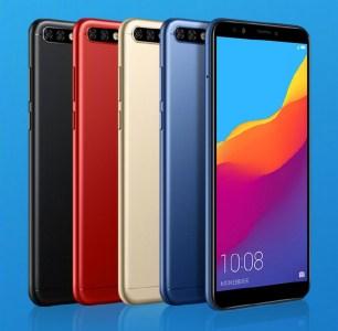 Представлен смартфон Huawei Honor 7C, получивший полноэкранный дизайн, сдвоенную камеру, SoC Snapdragon 450 и функцию Face Unlock при цене €115