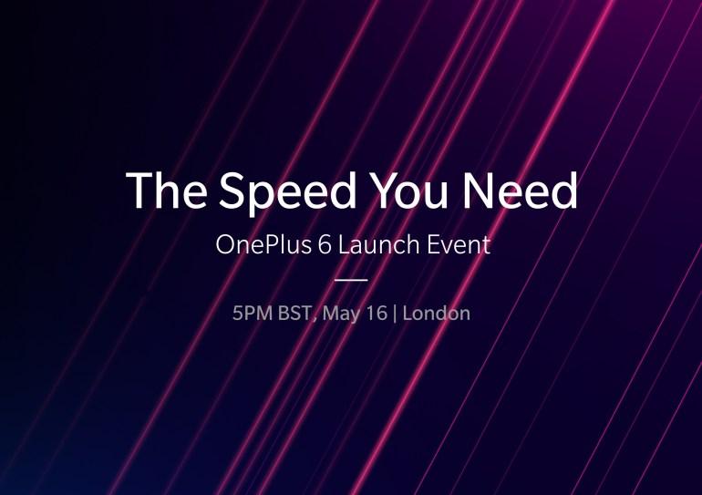 Смартфон OnePlus 6 будет представлен 16 мая в Лондоне