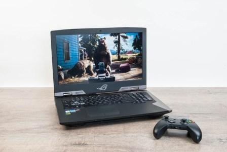 Обзор ноутбука ASUS ROG G703: играем по максимуму