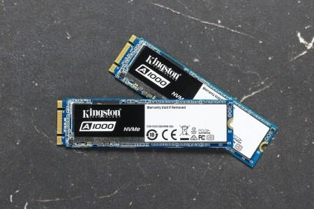 Kingston представил SSD начального уровня A1000 (3D NAND, NVMe, M.2) для ноутбуков и десктопов