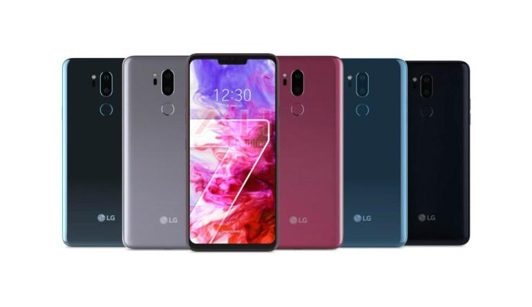 Опубликовано изображение смартфона LG G7 ThinQ со всех сторон