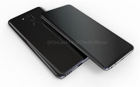 3D-модель смартфона LG G7 запечатлена на видео. Да, с вырезом вверху экрана