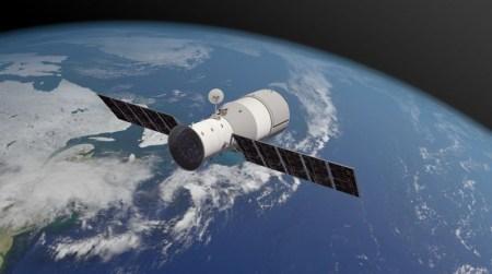Китайская космическая станция «Тяньгун-1» упала на Землю. К счастью, почти вся она сгорела в атмосфере над Тихим океаном