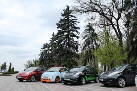 КГГА решила создать в Киеве туристическую сеть проката электромобилей за счет инвестиций