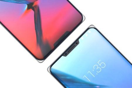 ZTE Iceberg — полностью стеклянный смартфон без металлической рамки и с двумя «челками» на передней панели
