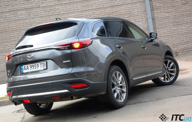 Удивляемся мотору и простору кроссовера Mazda CX-9