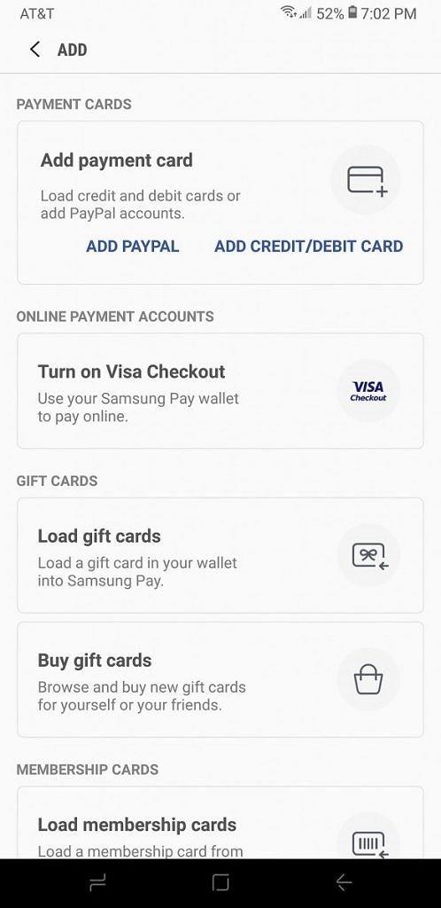 Платежный сервис Samsung Pay получил интеграцию с PayPal (спустя девять месяцев после анонса)