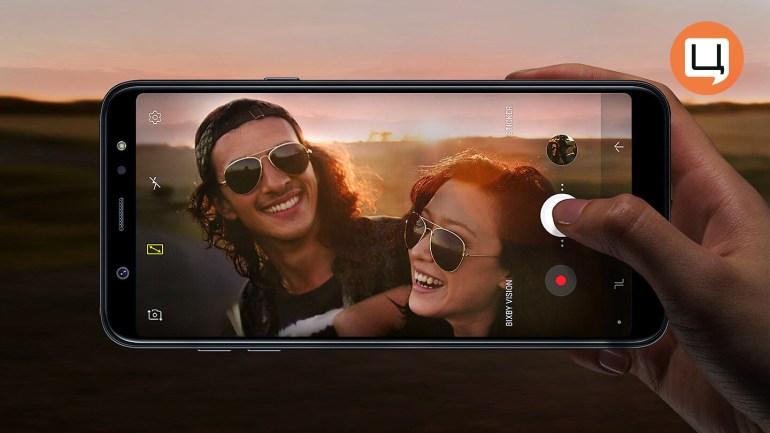 Безграничное удовольствие Samsung Galaxy А6+